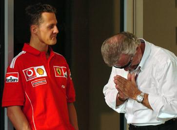 Schumacher in Bahrain